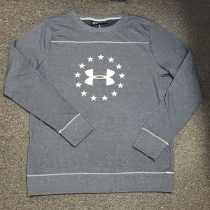 💜 NWOT Women's Under Armour pullover size L